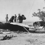 Downed Italian Ju87 Stuka in Sicily 1943