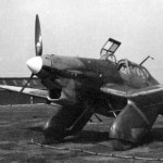 Early dive bomber Ju87 A-1 Stuka