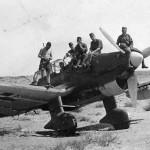 German dive bomber Ju87 R Africa DAK