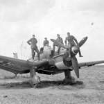 German dive bomber Ju 87B
