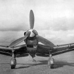 German dive bomber Junkers Ju87D-3 front view