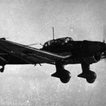 Ju87 B Stuka in flight