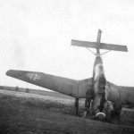 Ju87 B up on its nose