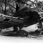 Ju87 camouflaged in winter