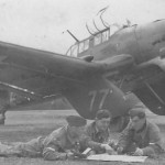"Ju 87 A-1 ""77"" code GJ+NV WNr.5008 of the StS 2 Bad Aibling September 1941"