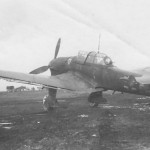 Ju 87 B-2 Stuka code T6+FR of the 7/StG 2 1941