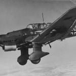 Junkers Ju87 B-1 Stuka code 6G+HR of the 4/StG 1 France 1940