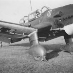 Junkers Ju87 B-1 code T6+JS of the 7/StG 2 1939