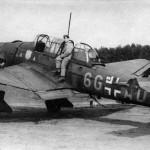 Junkers Ju87 B code 6G+AD of StG 51