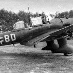 Junkers Ju87 B code 6G+BD of StG 51