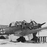 Junkers Ju87 B code AD+RS