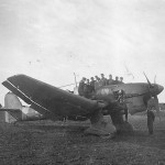 Junkers Ju 87B on the ground
