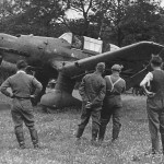 Junkers Ju 87 B prepares for take off – Rouen France 1940