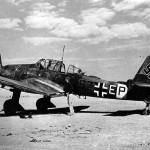 Junkers Ju 87 D-3 code S7+EP of 6/StG 3 El Aouina Tunisia November 1942