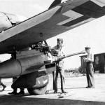 "Junkers Ju 87 G-2 ""Panzerknacker"" Stuka with underwing gun pod 1945"