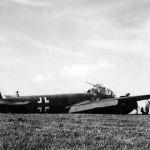 Captured Ju188 0541 crash landed in France