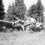 Ju188 wreckage 1945