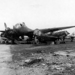Ju 188 A and Bf109 Erfurt Germany 1945