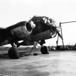 Ju 188 E with 800 l drop tank of Stabsstaffel KG 4 1944