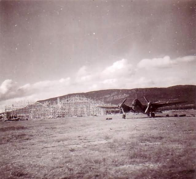 Ju88 Banak Norway 1940