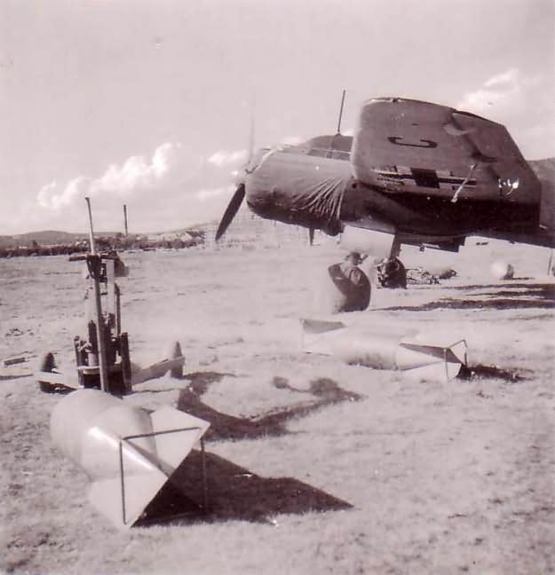 JU88 bomber at Banak airfield Norway 1940