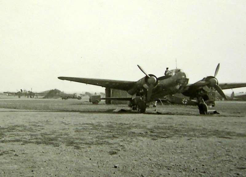 Ju 88 in Kirowograd 1943