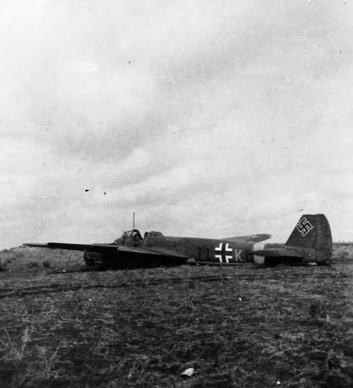 Ju88 of the Aufklarungsgruppe 10