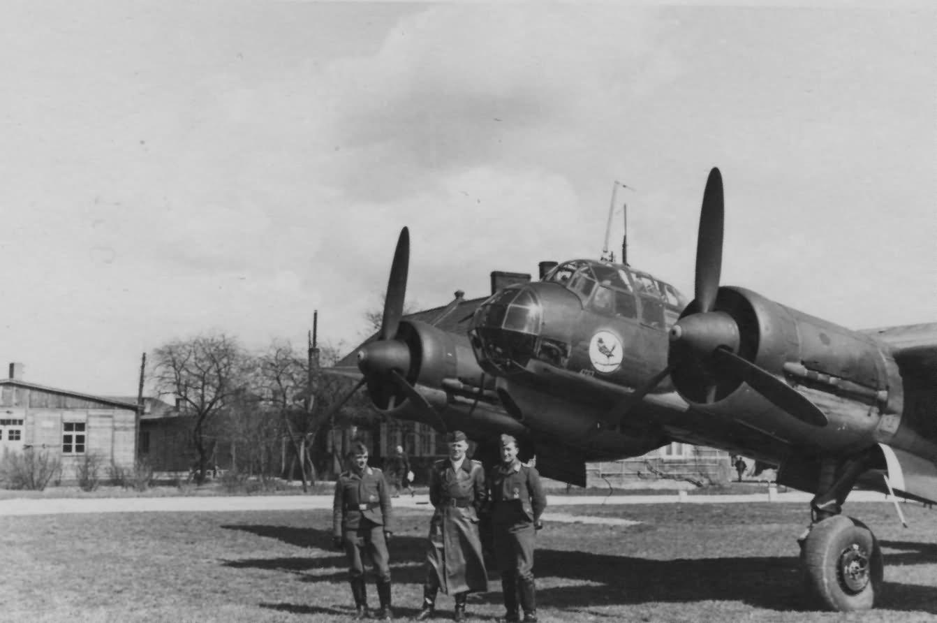 Ju 88 of the II Gruppe KG3