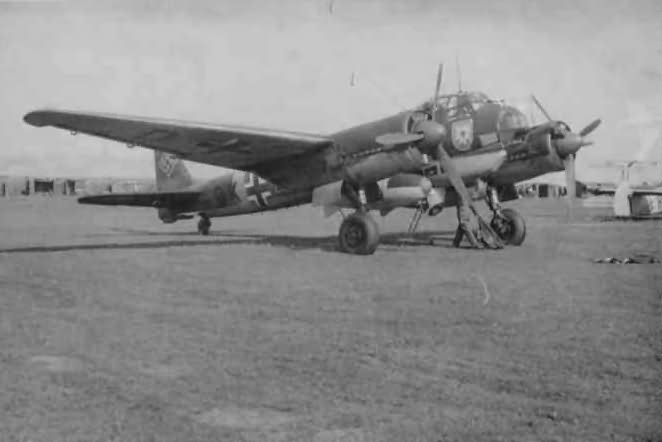 Ju88 of the KG51 Edelweiss
