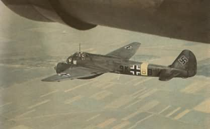 Ju88 KG51 color photo