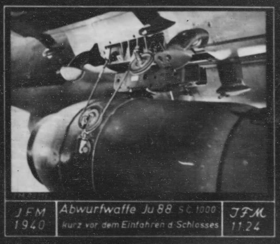 Ju88 SC1000 bomb
