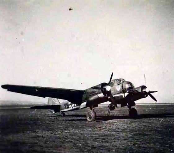 Ju88 bomber