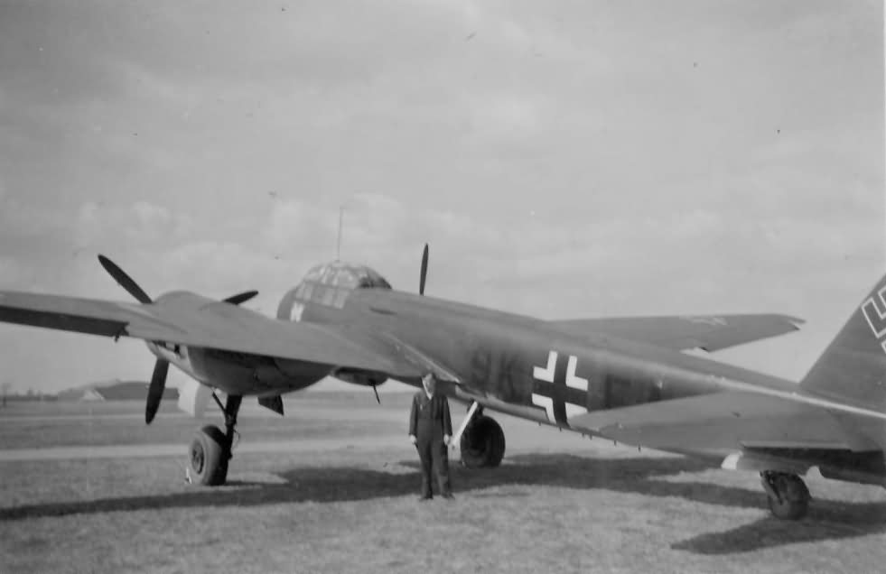 Ju88 bomber of the KG51