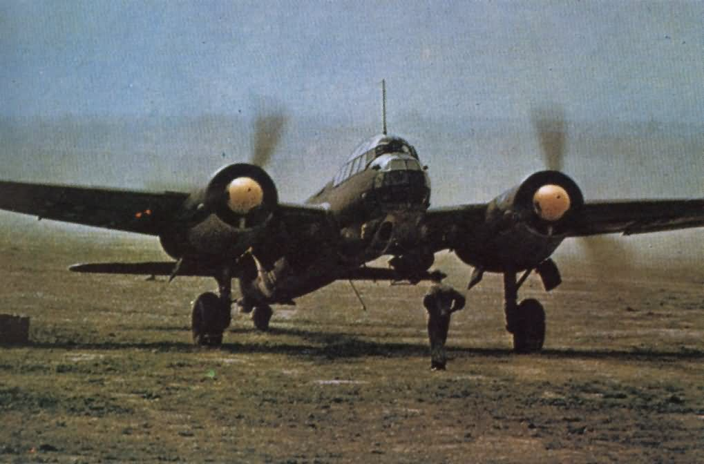 Ju88 color photo 13
