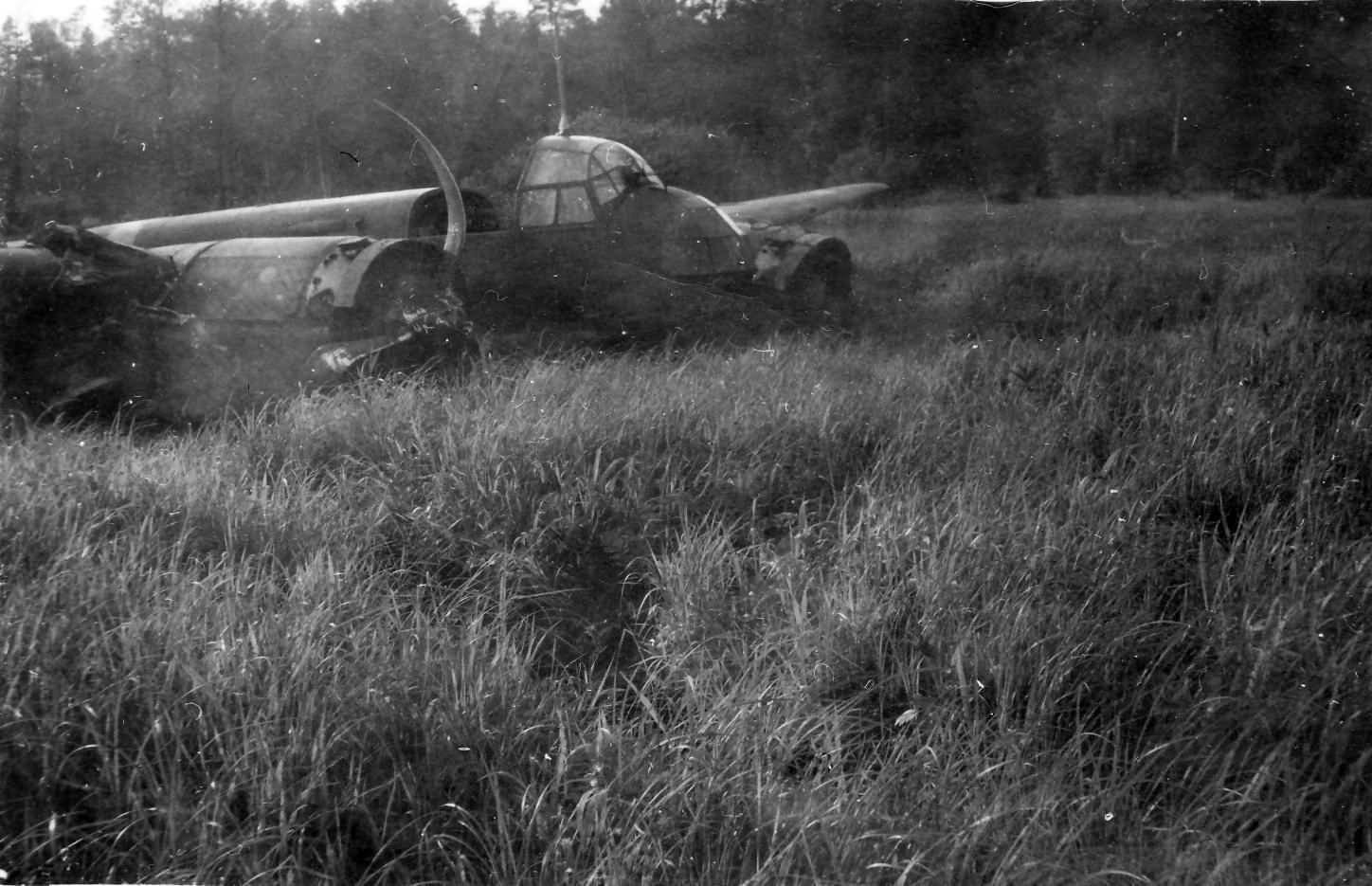 Ju88 destroyed