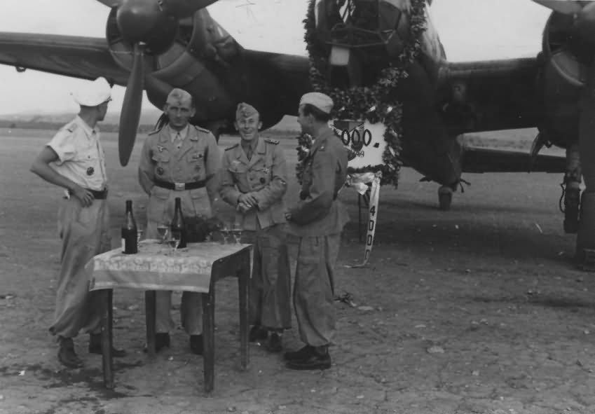 Ju88 luftwaffe ceremony