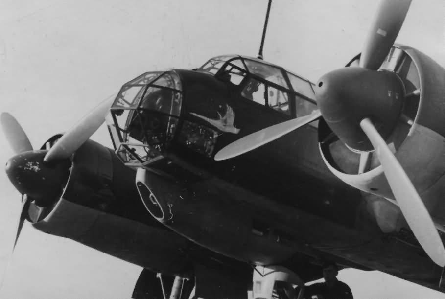 Ju88 with Aufklarungsgruppe 121 marking
