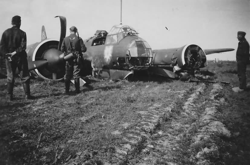 Ju 88 A 0 A 1 WNr 3065 KG51 Edelweiss West front 1940