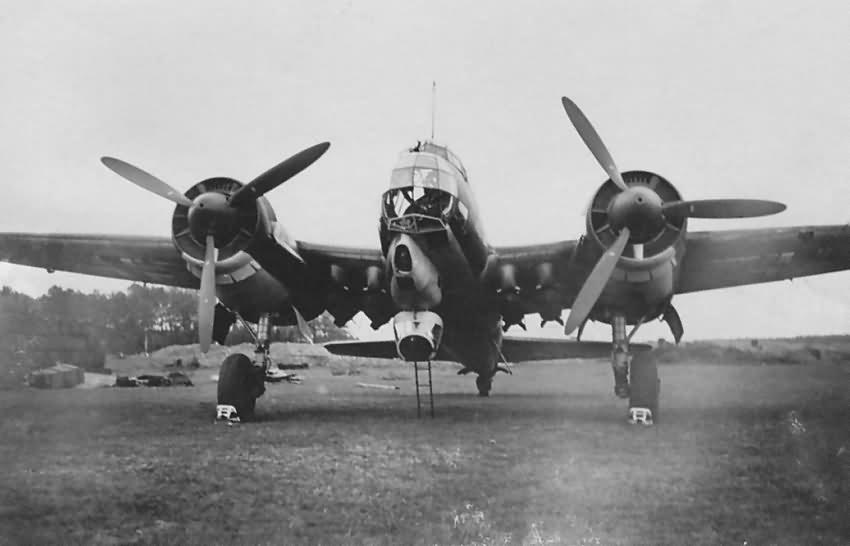 Ju 88 A-1 or A-0 of II/KG 30