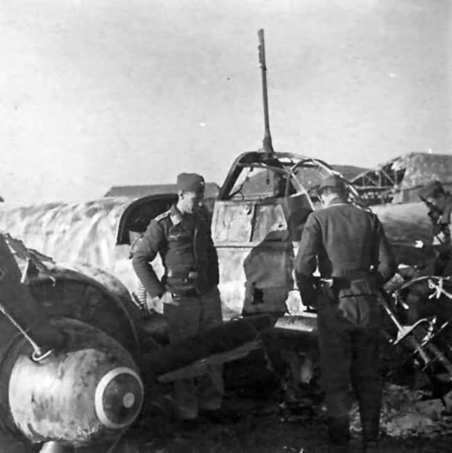 Ju 88 A of the I/KG 77 with FuG 200 Hohentwiel 1943 2
