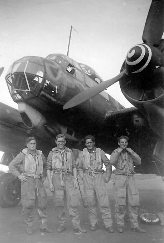 Ju 88 A of IV/KG 30 in Aalborg 1943