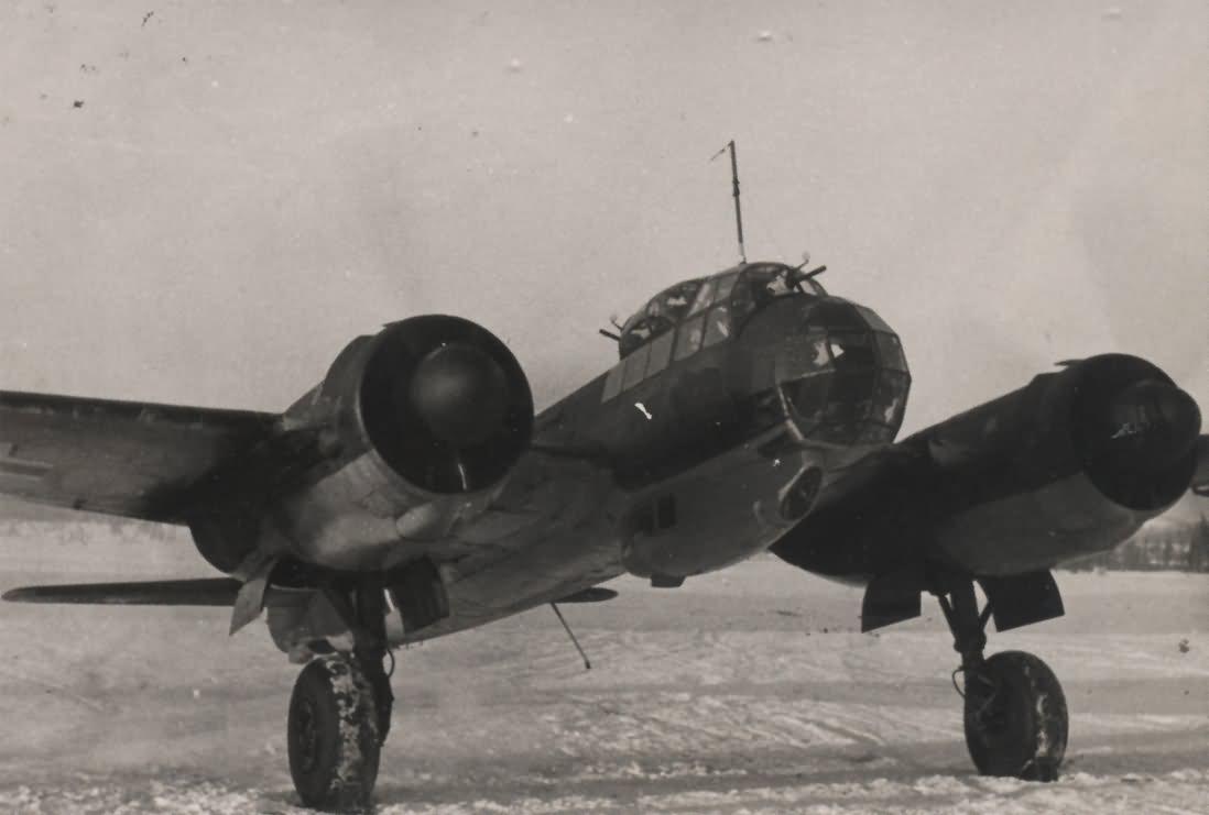 Ju 88 Besatzung RK Trager Ernst Sorge 200 Feindflug
