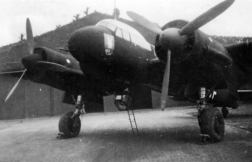 Ju 88 C-4 R4+AA of the Stab/NJG 2, pilot Maj Karl Hulshoff 1941