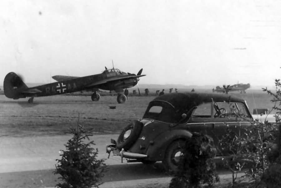 Ju 88 C-6 code R4+AA from Stab NJG 2, pilot Maj Karl Hulshoff 1941