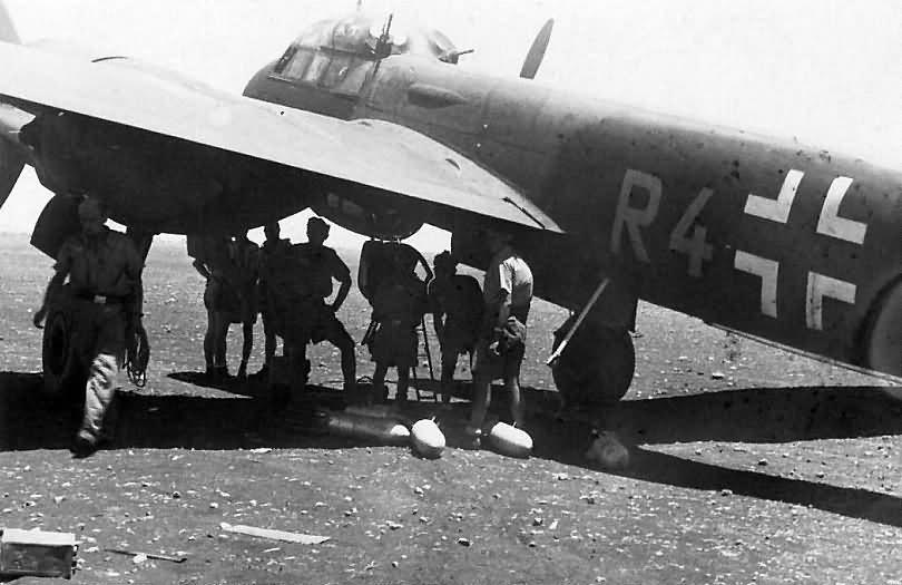Ju 88 C of 3/NJG 2 in Derna or El Daba 1942