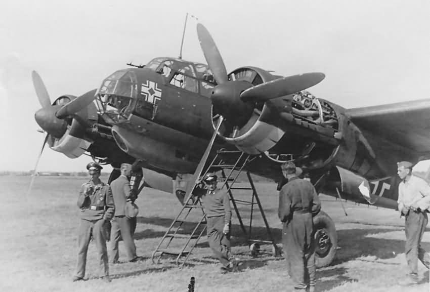 Ju 88 D of the 3/F 22 June 1941 (long-range photo-reconnaissance variant)