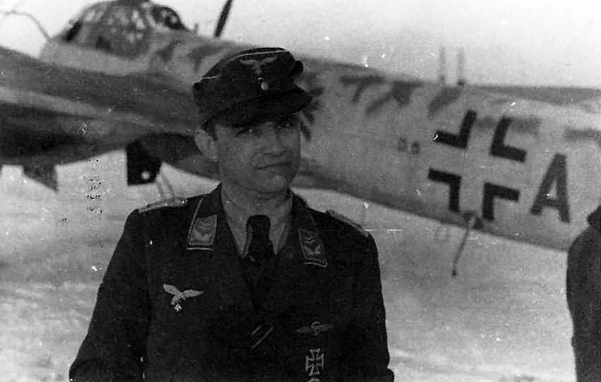 Ju 88 G-1 code D5+AF of Stab IV/NJG 3, pilot Berthold Ney Jever 1945