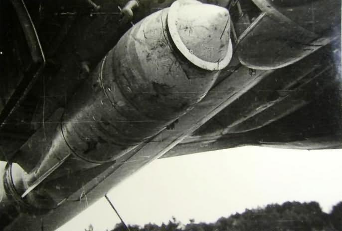 Junkers JU 88 bomb