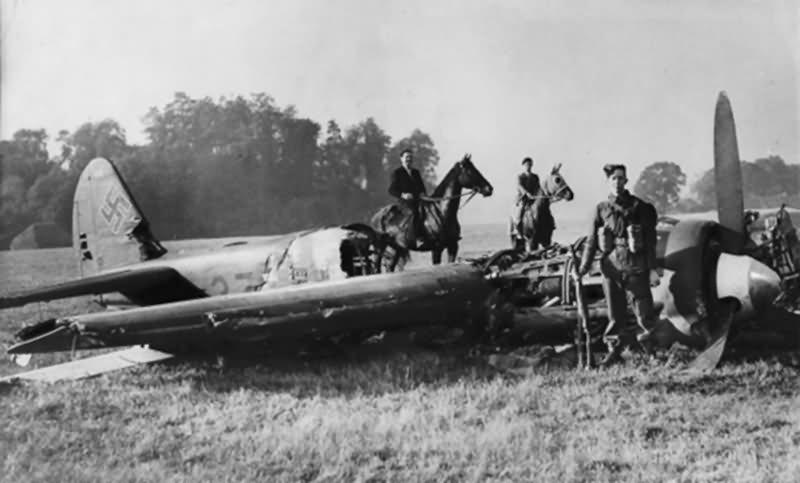 Junkers Ju88A Werke Nr 4136 of I/KG 77 shot down 3rd Oct 1940