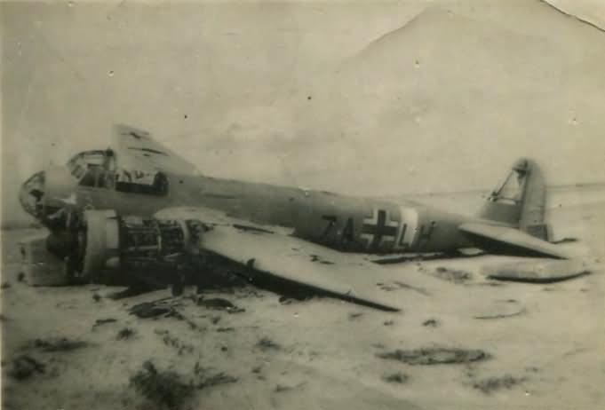 Junkers Ju88 7A+LH 1(F)/121 Africa